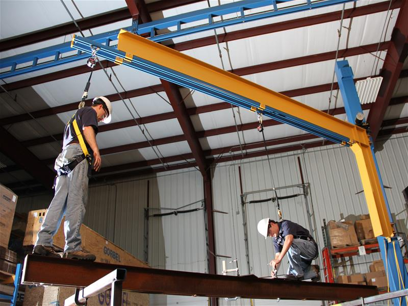 Fall Protection System - Materials Handling Enterprises