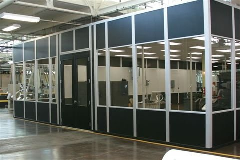 Modular Office Enclosures Partitions And Industrial