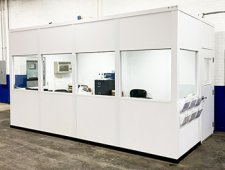 Modular Office Enclosures, Partitions, and Industrial Dividers